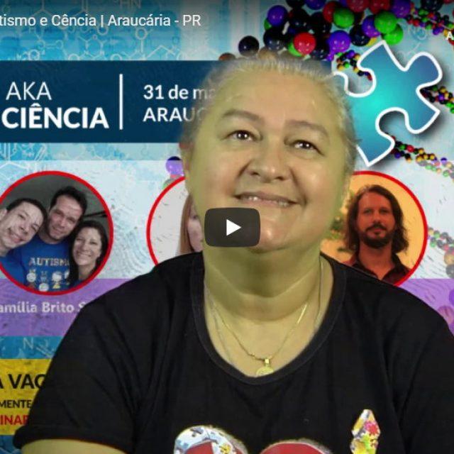 Sandra Prado, da AKA, fará seminário sobre Autismo e Ciência em Araucária, a Rotary Tv foi conferir