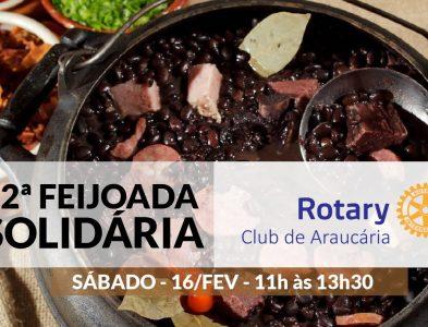 Feijoada Solidária  16/02