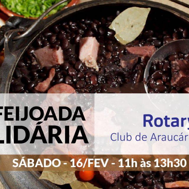 RCA promoverá Feijoada solidária sábado dia 16/fev, reserve a sua!